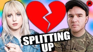 <b>Hayley Williams</b> Of Paramore & Chad Gilbert Are Splitting Up