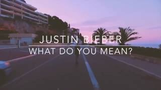 Justin Bieber  What Do You Mean Chill Trap Remix