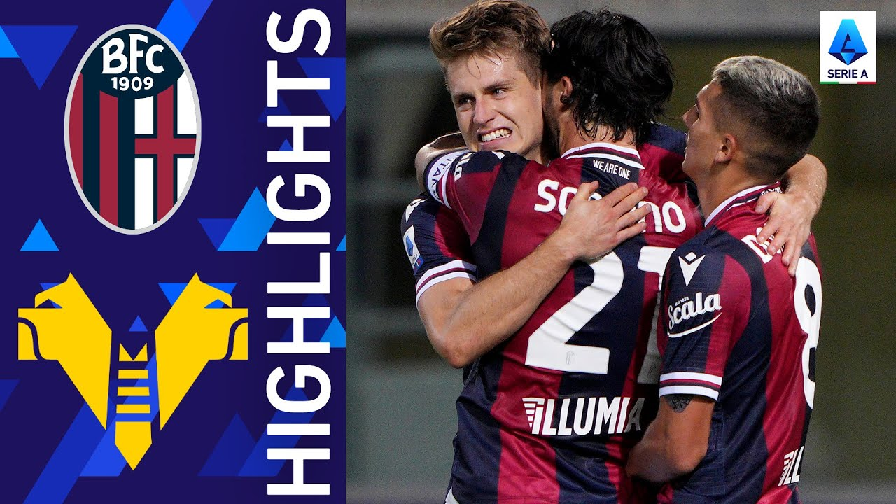 Bologna 1-0 Hellas Verona | Svanberg scores the only goal of the match! | Serie A 2021/22
