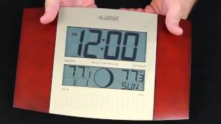 WS-8117U-IT-C Atomic Digital Wall Clock