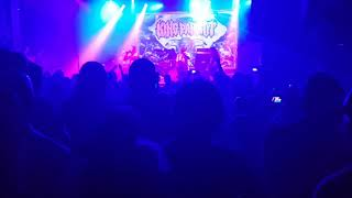 King Parrot Nervous Shakedown  ACDC cover live in Melbourne 15th December 2017