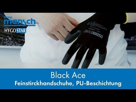 Top Arbeitshandschuhe mit hervorragendem Tastempfinden - BLACK ACE - Franz Mensch GmbH