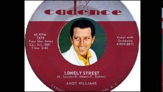 Andy Williams - Lonely Street  (1959)