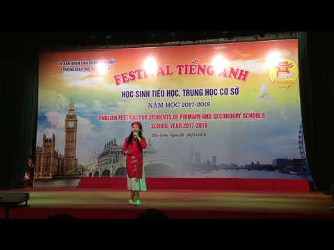 Phần thi Festival Tiếng Anh năm học 2017 - 2018 của cô và trò trường Tiểu học Quan Hoa