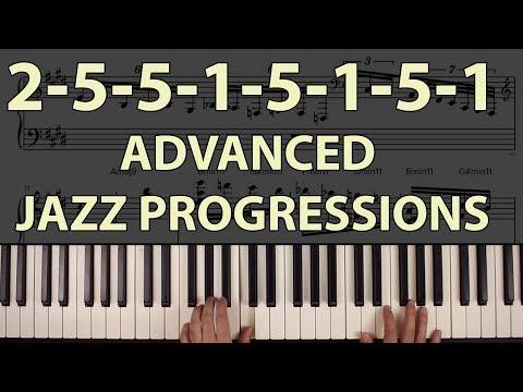 Advanced Jazz Chord Progressions: Ascending 2-5-1 Trains
