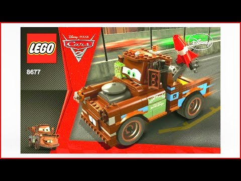 LEGO CARS 8677 Ultimate Build Mater Construction Toy - UNBOXING