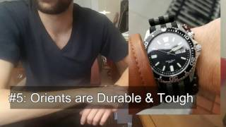 5 Reasons I Love My Orient Dive Watch