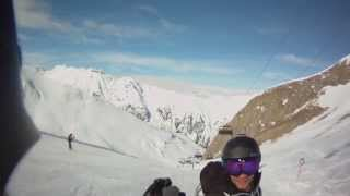preview picture of video 'Ischgl Piste 14a Feb 2012'