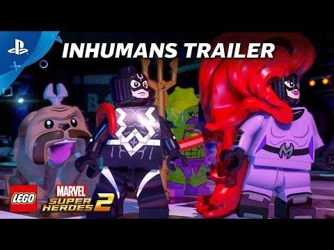 LEGO Marvel Super Heroes 2 – Inhumans Trailer   PS4