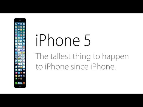 The iPhone 5 (Parody): A Taller Change Than Expected