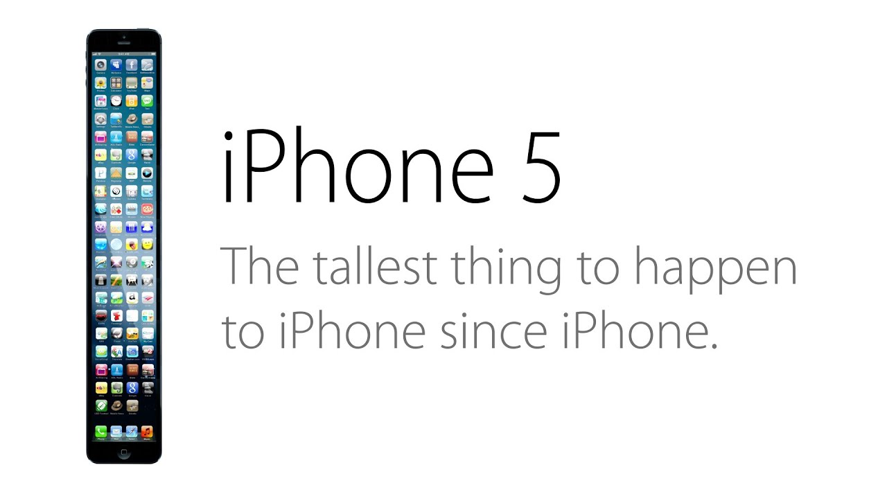 Maybe The iPhone 5 Isn't Tall Enough?