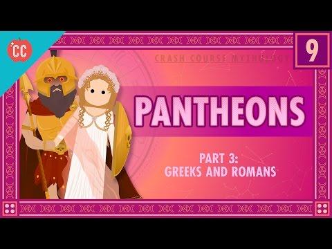 The Greeks and Romans – Pantheons Part 3: Crash Course World Mythology #9