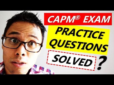 MASTER CAPM Exam QUESTIONS: Communications Management ...
