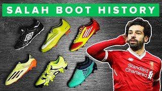 MOHAMED SALAH BOOT HISTORY   2006 - 2018