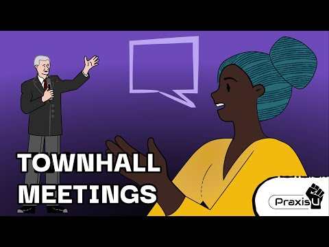 Guide to Town Halls & Council Meetings