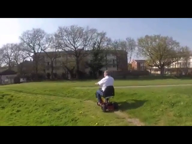 Bariatric Car Boot Mobility Scooter Video