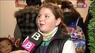 preview picture of video 'La Casa de Papá Noel en S'Arenal en el programa La Mirada de IB3 (13-12-2012)'