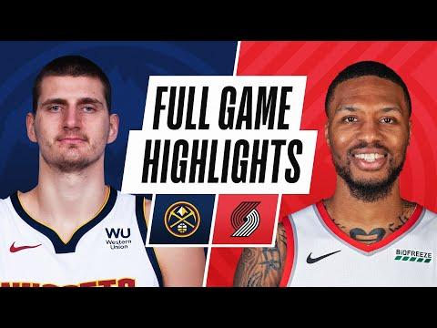 Portland Trail Blazers vs Denver Nuggets</a> 2021-05-17