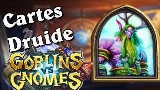 Gobelins Vs Gnomes   Cartes Druide Analysées Par Torlk Et Marmotte