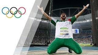 Nazarov wins historic gold in Men's Hammer Throw