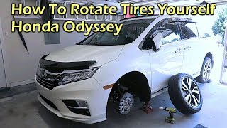 How To Rotate Tires Yourself - 2019 Honda Odyssey