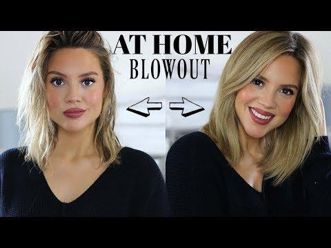SUPER CHIC SALON STYLED HAIR AT HOME | Elanna Pecherle