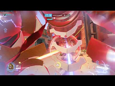 Overwatch Solo Queue- Trying to Carry as Winston!