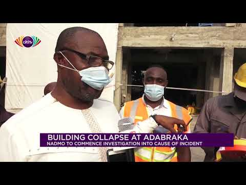 NADMO to commence investigation into building collapse at Adabraka