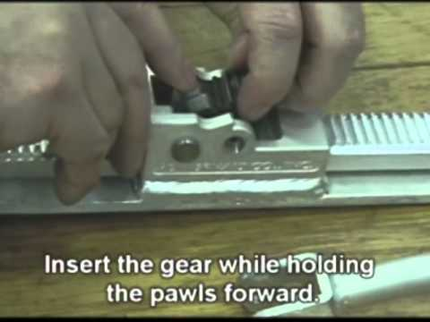 Powernail PowerJack Disassembly, Reassembly and Pawl Replacement
