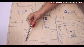 Beginners Guide To Sewing (Episode 3): Introduction To Patterns, Fabric & Notions