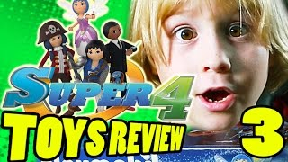 Super 4 Toys Review PART 3: Ruby's Camouflage Pirate Fort and Super4 Playmobil | Beau's Toy Farm | Kholo.pk
