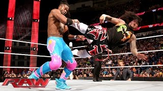 The Usos vs. Big E & Kofi Kingston: Raw, January 11, 2016 | Kholo.pk