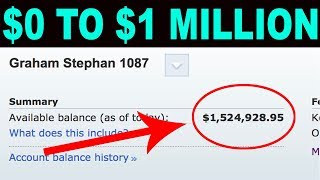How to be a Millionaire in 10 Years (Starting from $0)