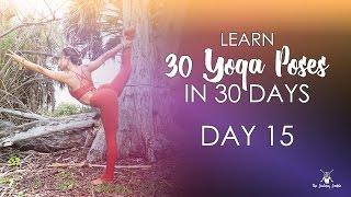 Day 15 - Dancer Pose - 30 Pose Journey