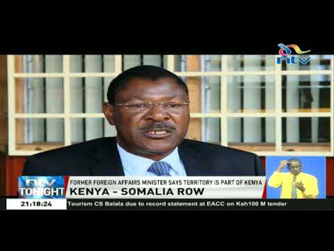 Moses Wetangula: Disputed Maritime boundary is part of Kenya's territory