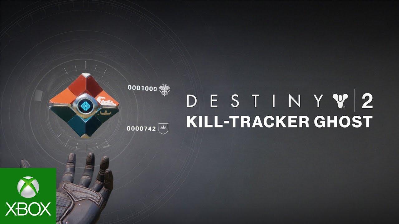 Destiny 2 - Kill-Tracker Ghost Pre-Order Trailer