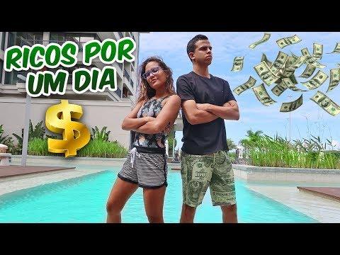 VIRAMOS RICOS POR UM DIA! - KIDS FUN