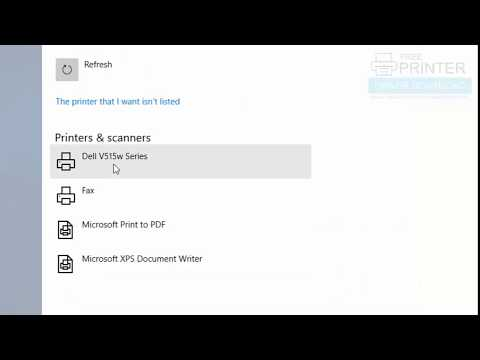 How To Install Dell V515w Printer On Windows 10 Manually. Mp3