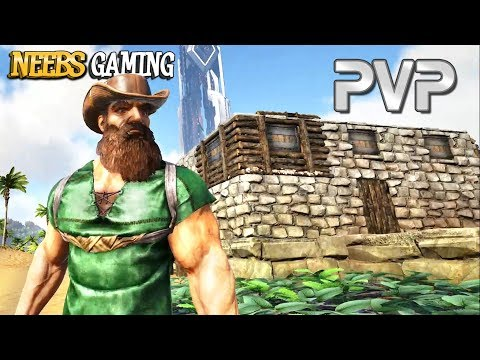 My First PVP Base : Ark Survival Evolved