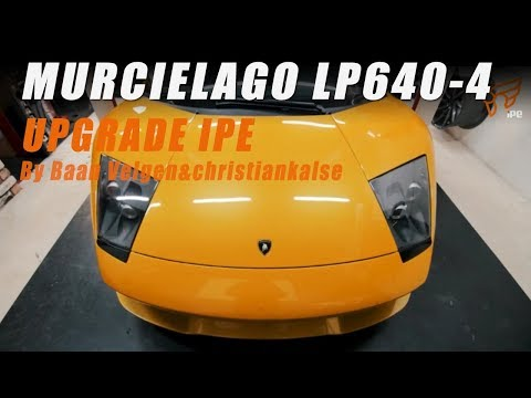 The iPE Full exhaust For Lamborghini LP640-4