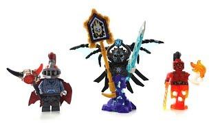 15 LEGO Nexo Knights Custom Minifiguren von Zuschauern / Folge 2