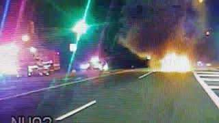 Off-duty N.J. corrections officer rescues woman from burning car