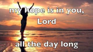 My Hope Is In You by Aaron Shust (Lyrics)