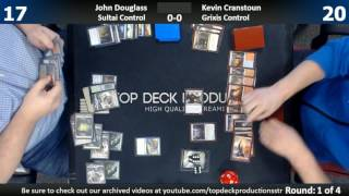 Standard 5/3/17: John Douglass (New Perspectives Combo) vs. Kevin Cranstoun (Grixis Control)