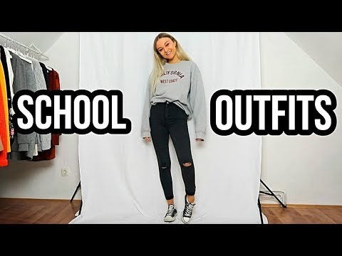 SCHOOL / UNI OUTFITS 2018⎥Outfit Ideas Lookbook ⎥ PIA