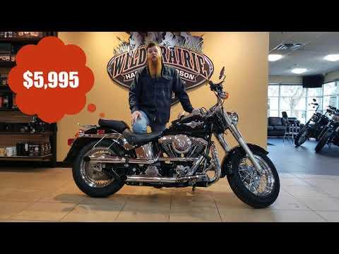 1999 Harley-Davidson HD Softail FLSTF Fatboy