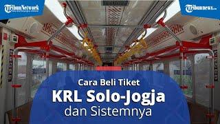 Hadir di Kota Solo dan Yogyakarta, Simak Cara Beli Tiket KRL Solo-Jogja