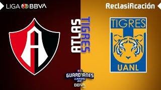 Resumen | Atlas vs Tigres | Liga BBVA MX - Guard1anes 2021 - Reclasificación