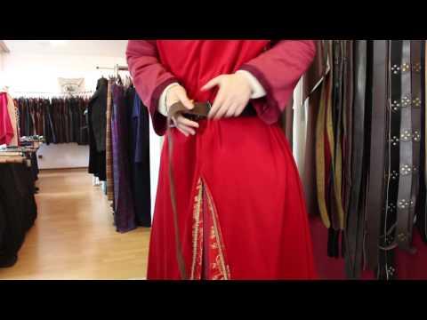 Leuengold - Wie bindet man einen Langgürtel