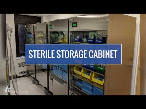 Video thumbnail for Sterile Storage Cabinets